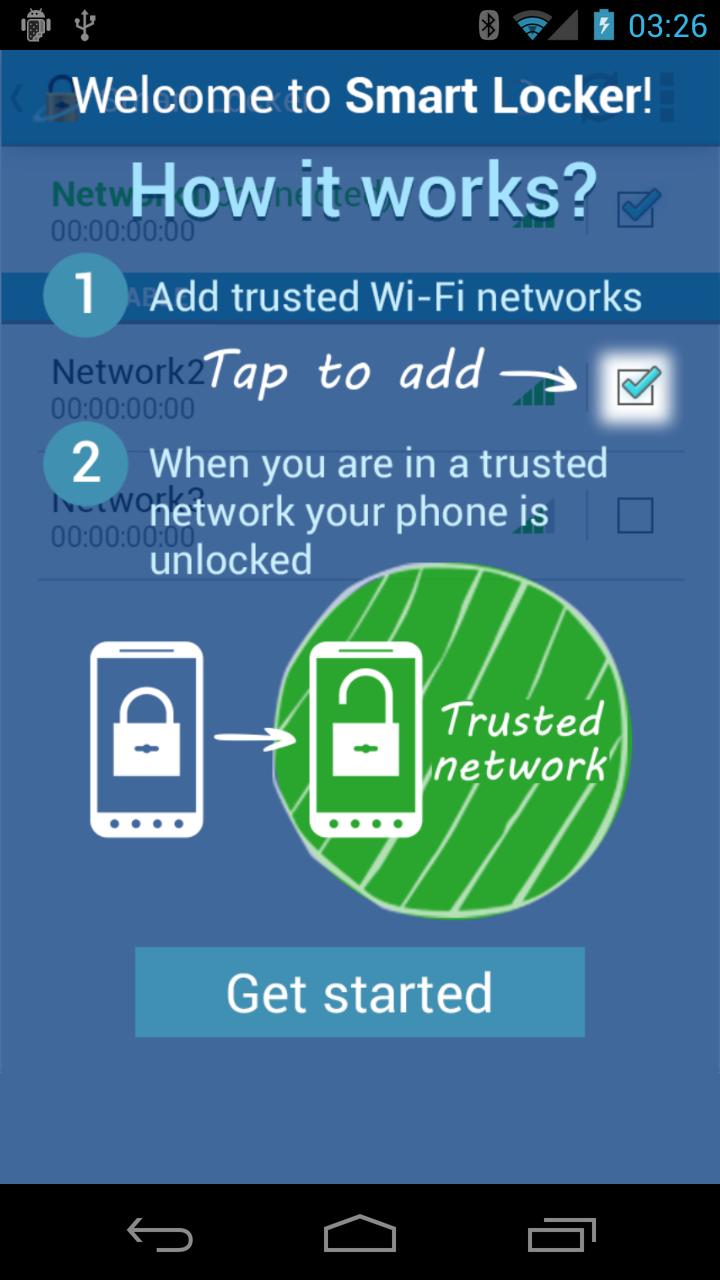 Screenshot SmartLocker